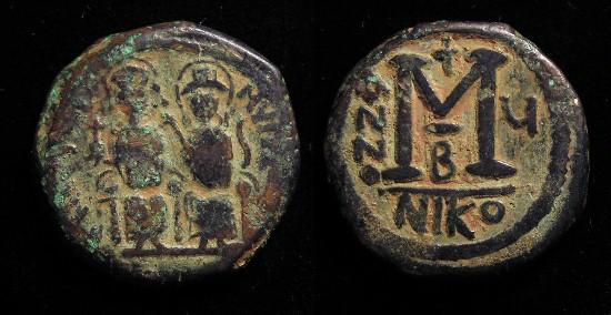 Ancient Byzantine Constans 11 Follis 7th Century Ad Coins & Paper Money Coins: Ancient